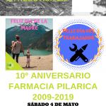 Décimo Aniversario Farmacia Pilarica